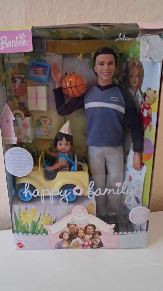 Barbie Happy Family Alan Amp Ryan Dolls Happy Birthday W 2