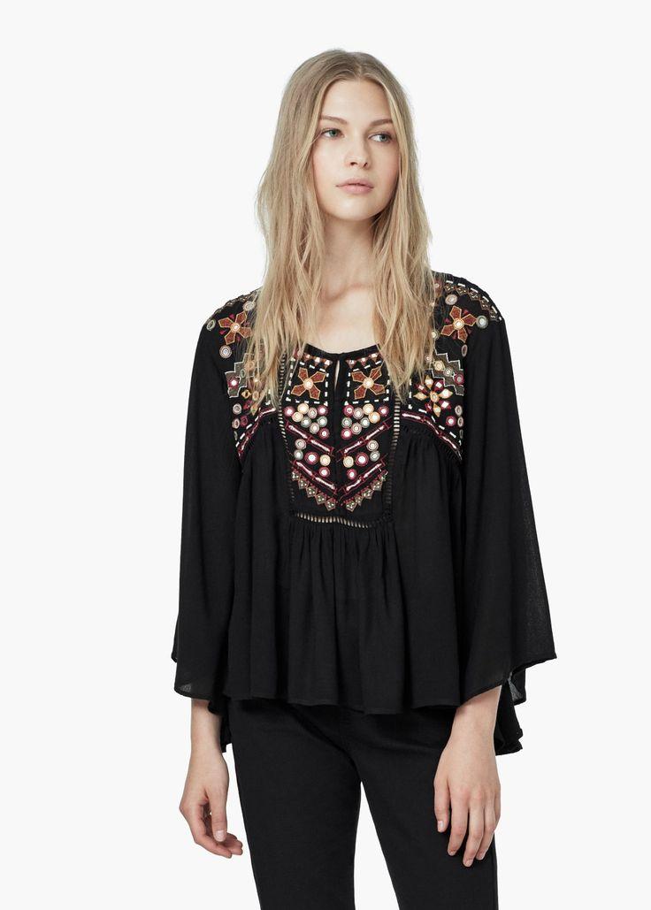 Die besten 25 boho bluse ideen auf pinterest hippie - Hippie bluse damen ...
