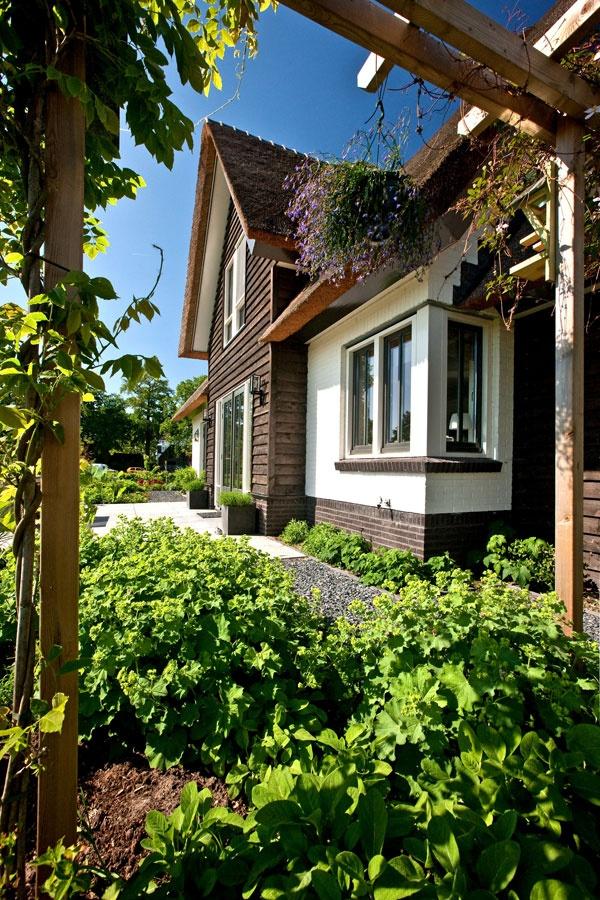 Villabouw, wit gekeimd, douglas delen