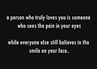 The tears of a clown....