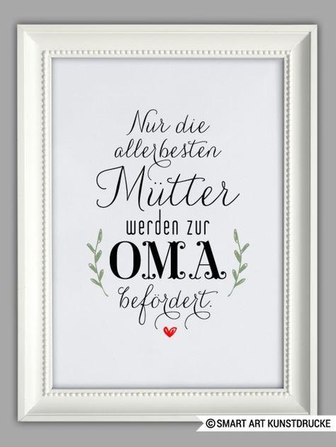 """Originaldruck – """"MAMA und OMA"""" Kunstdruck, Muttert…"""
