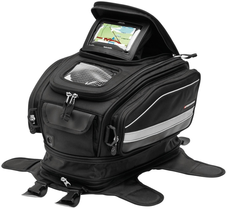 Buy The Firstgear Laguna GPS Tank Bag With Backpack At Motorcycle Superstore Huge Selection Of Accessories Street Bike Luggage In Stock