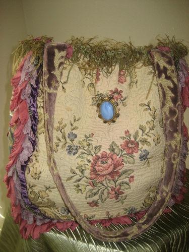 Magnolia Pearl Handbags Vdsrup Marble Pearls Flower Rose