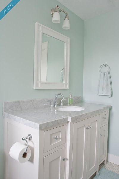 benjamin moore palladian blue bathroom - Google Search