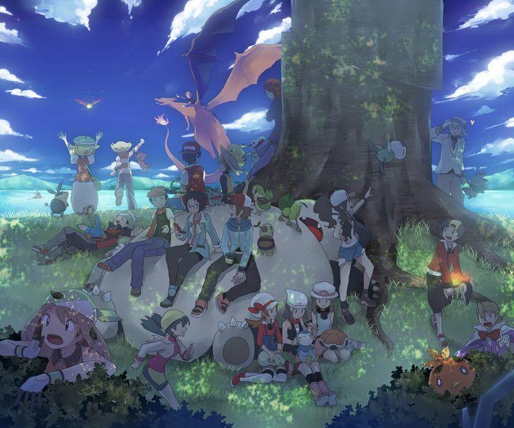 Tags: Pokémon, Nintendo, Pokémon SPECIAL, Pikachu, Hikari (Pokémon), Piplup, Haruka (Pokémon), Yellow (Pokémon), Squirtle, Mudkip, Chikorita, Cyndaquil, Hibiki (Pokémon), Kotone (Pokémon), Silver (Pokémon), Totodile, Zorua, Red (Pokémon), Kris (Pokémon), Blue (Pokémon), Green (Pokémon), Bulbasaur, Kouki (Pokémon), Jun (Pokémon), Yuuki (Pokémon), Turtwig, Charizard, Torchic, Treecko, Chimchar, Ho-oh, Suicune, Snorlax, Touko (Pokémon), Minaki (Pokémon), N (Pokémon), Cheren (Pokémon), Bel…
