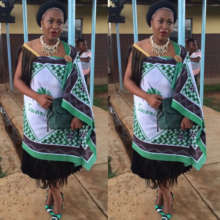 Swazi traditional Attire