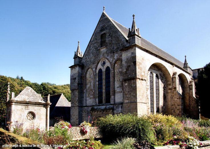 Abbatiale St-Magloire, à Léhon.