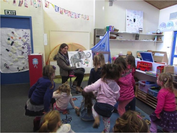 Moving to learn during story time