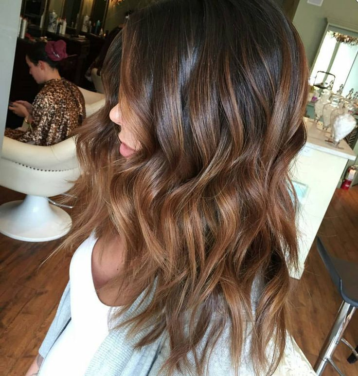 """* More Chocolate Balayage. .. by @saloncouture_ny @paulmitchellus @schwarzkopfusa #behindthechair"""