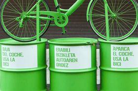 Ayuntamiento de Bilbao. Campaña Medioambiente Bicicleta