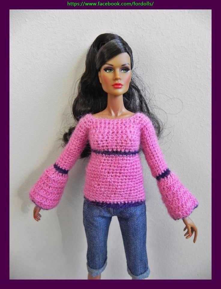 """Clothes for Fashion Royalty / FR2 / Barbie /  Poppy Parker /  12 """" dolls"""