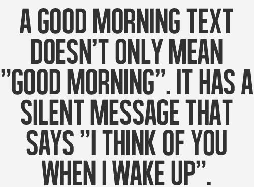 I love my good morning texts! @jasonbickenbach