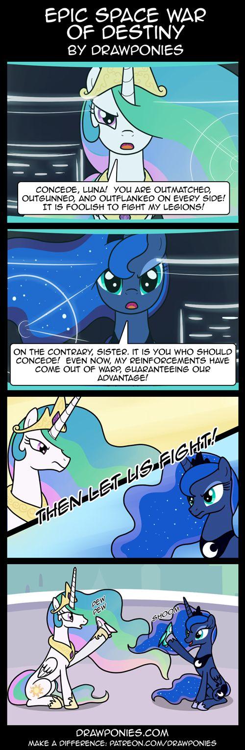 Epic Space War Of Destiny