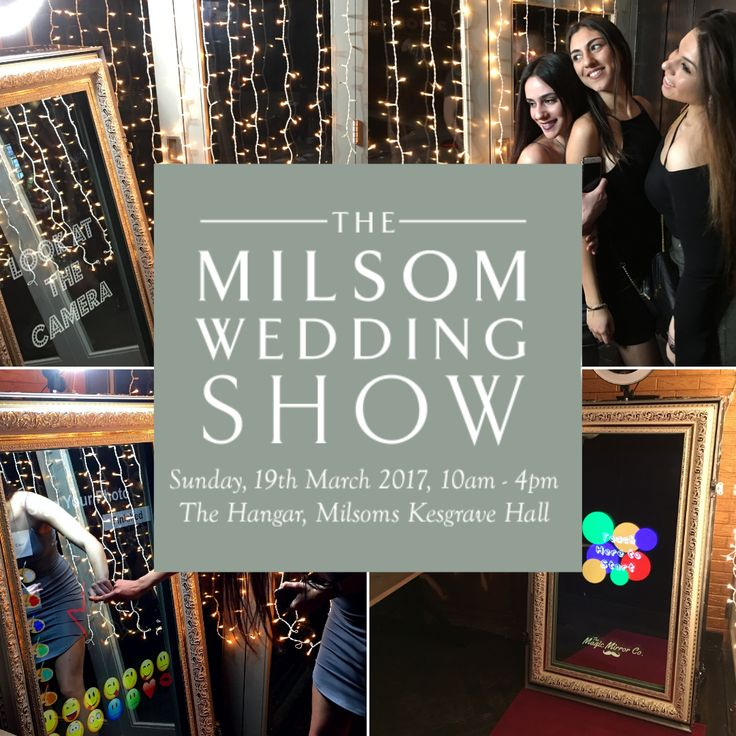 We are off to the Milsom Wedding Show on March 19th :)
