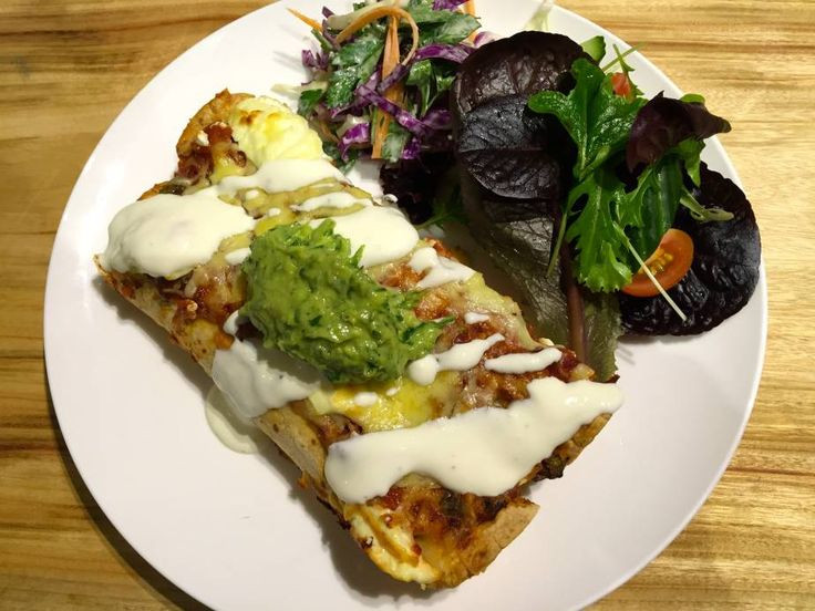 """""""Lighter"""" Chicken Enchiladas"""
