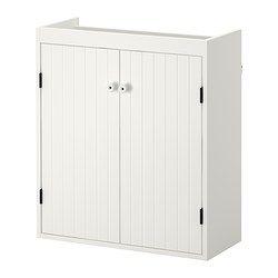 SILVERÅN Kastje voor onder wastafel 2 deuren - IKEA