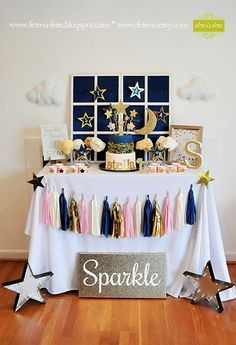 SALE Twinkle Twinkle Little Star Birthday or Baby Shower by FeteUS