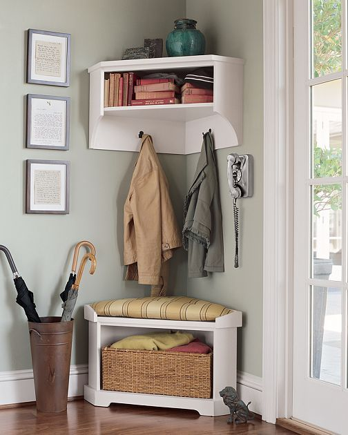 Unique Entry Foyer Coat Rack Bench