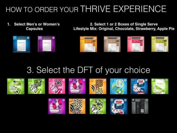 #Thrivers have #options! Which did you choose today?   Pick your 1-2-3: 1 Men's or women's lifestyle capsules 2 vanilla, chocolate, strawberry or Apple lifestyle mix 3 pick any Ultra DFT  http://www.thrivediva.com