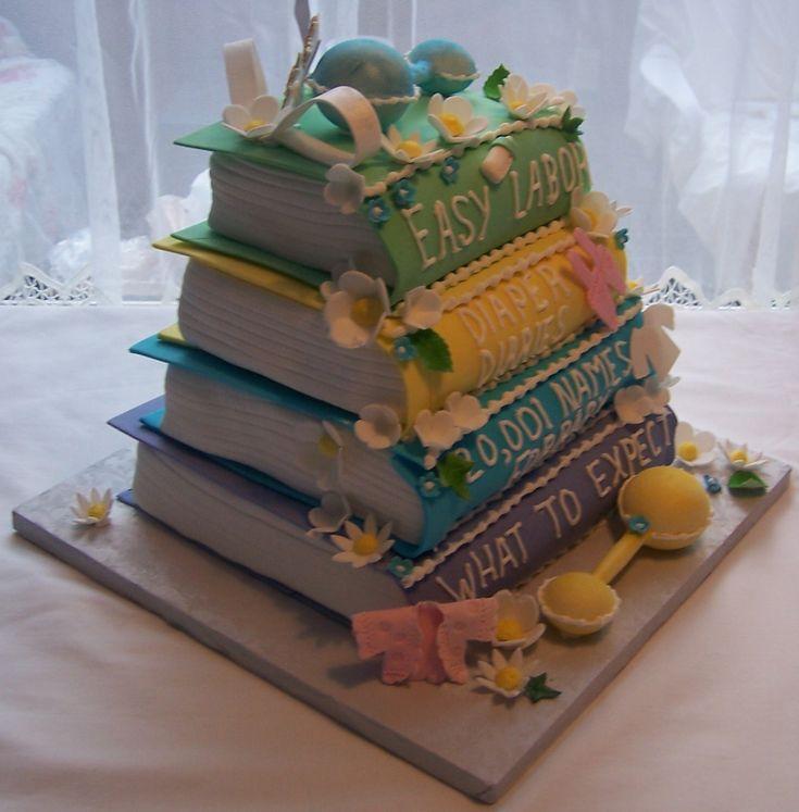 Creative Baby Shower Cake
