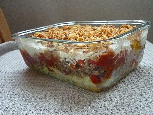Mexikanischer Schichtsalat (Rezept mit Bild) von issi27 | Chefkoch.de