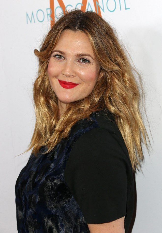 Le chatain clair de Drew Barrymore