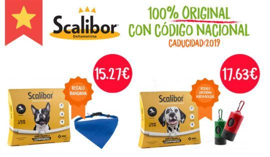 OFERTÓN🤩 El mejor #collar #antiparasitario del mercado Scalibor España 100% Original con código nacional y REGALITOS 🎁 A un precio para todos los bolsillos 🐾  ¡Aprovecha esta #oferta limitada!   ➡️https://goo.gl/Lus15U  #Scalibor #collarScalibor #scalibororiginal #mascoweb #mascotas #tiendademascotas #animales #perros