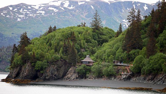 house in Halibut Cove, Alaska-no road access