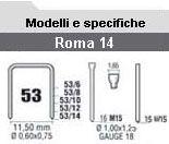 Romeo Maestri - Fissatrici manuali in plastica in ABS per punti e chiodini RO-MA 14