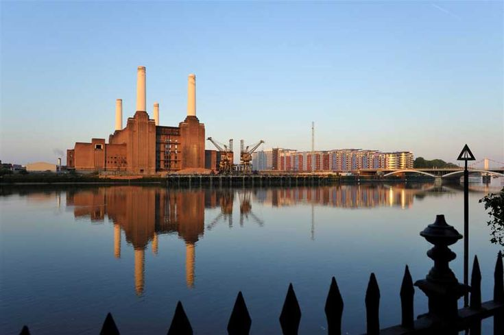 Battersea Power Station - designed by the man who bought you the red telephone box, Sir Giles Gilbert Scott. He also designed Bankside power station, which currently houses the Tate Modern collection. SW8, Vauxhall Tube.