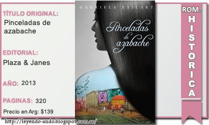 Pinceladas de azabache - Gabriela Exilart