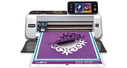 The Brother ScanNCut | Home and Hobby Fabric Cutter