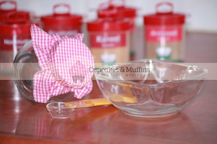 Heerlijke bruine cupcakes met huisgemaakte speculaas kruiden mix!