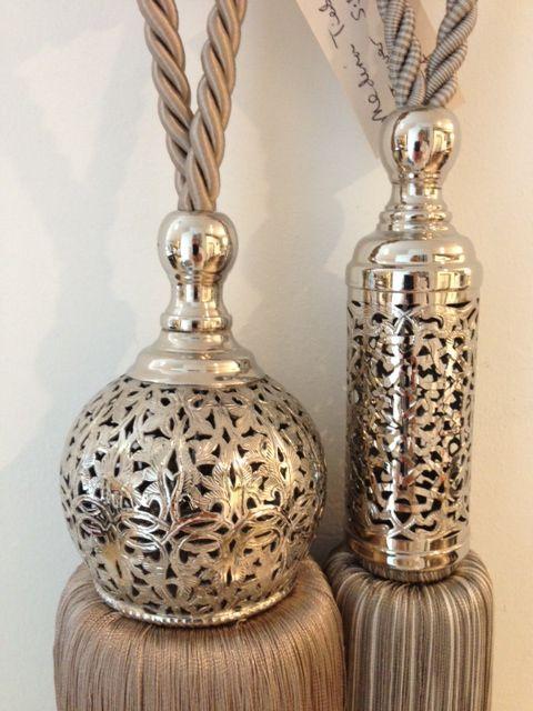 Silver Tassels by Cushing.