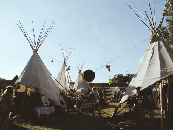 A Weekend in the Wilderness: UK Festival Photo Diary | Free People Blog #freepeople