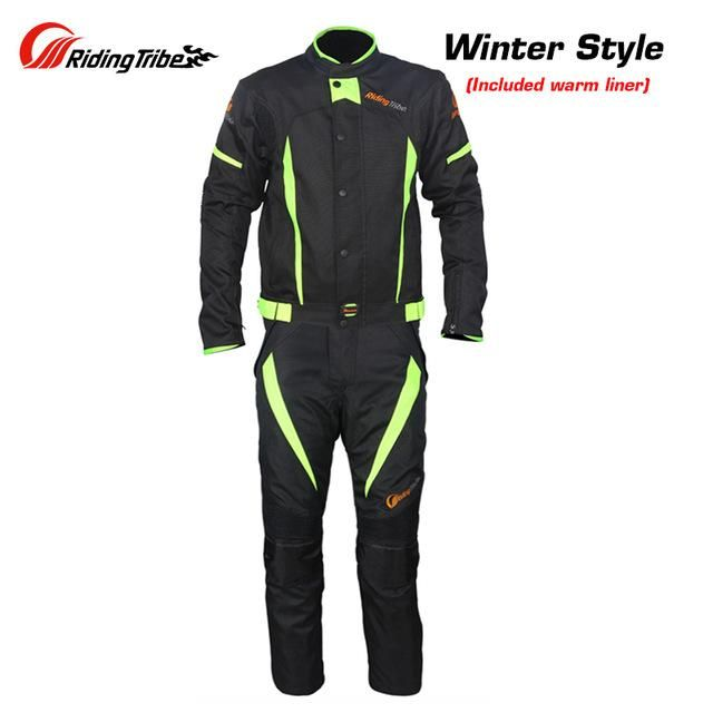 Riding Tribe Winter Summer Motorcycle Jacket Men Windproof Waterproof Riding Jacket And Motorcycle Pants Suit Blouson Moto