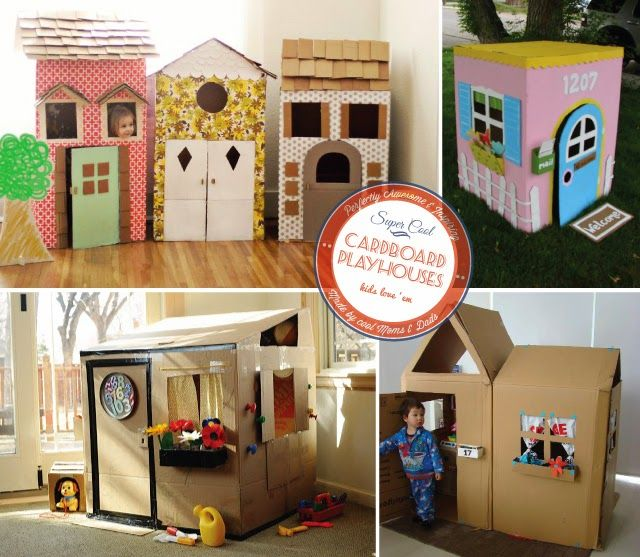 Obsessed Refrigerator Boxes Playhouses  Grands  Play