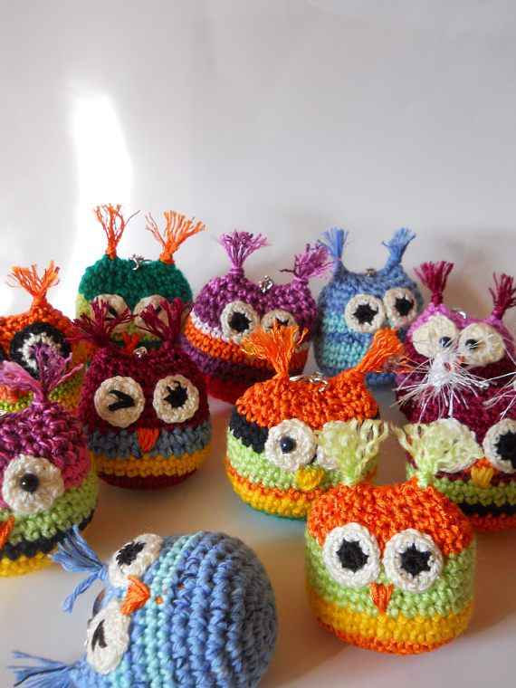 PDF Owl crochet, pattern, Amigurumi,Owl Pattern DIY Owl PDF, Amigurumi Owl Yellow Green, Owl Pattern Baby, Owl Crochet Tutorial Bird Pattern