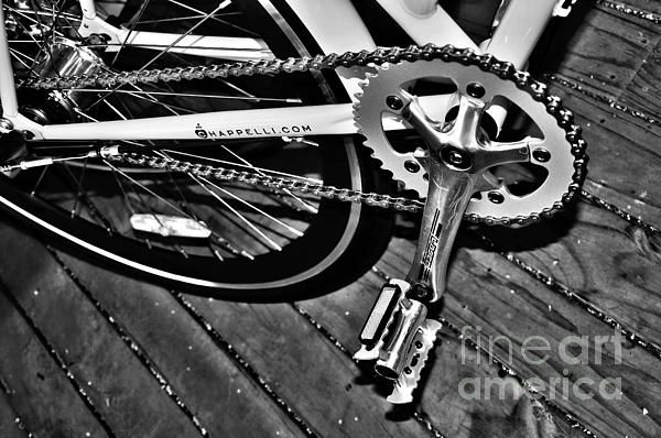 #SPROCKET AND #CHAIN - #HDR #BlackandWhite #Photography - Quality Prints & Cards at: http://kaye-menner.artistwebsites.com/featured/sprocket-and-chain-black-and-white-kaye-menner.html  -