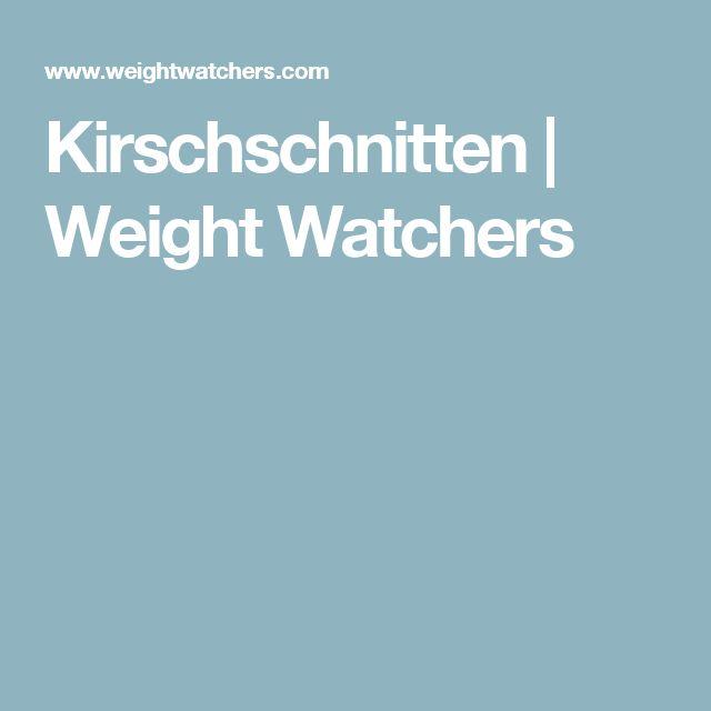 Kirschschnitten | Weight Watchers