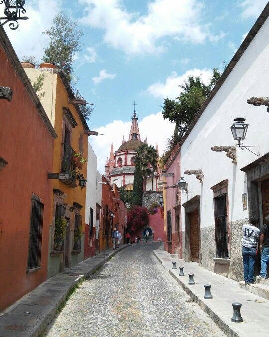 San Miguel de Allende en Guanajuato