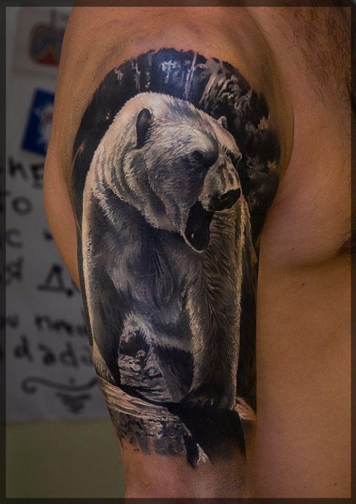 татуировки белого медведя - Поиск в Google
