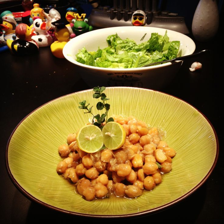 Chickpeas/Lemon