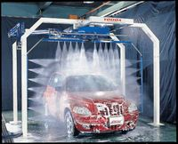 60 seconds washing, Touchless Automatic Car Wash Equipment/Systems DA-W200ST with double spraying arms