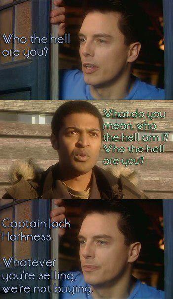 """""""Boom Town"""" (Doctor Who, 2005). #jb #NoelClarke"""