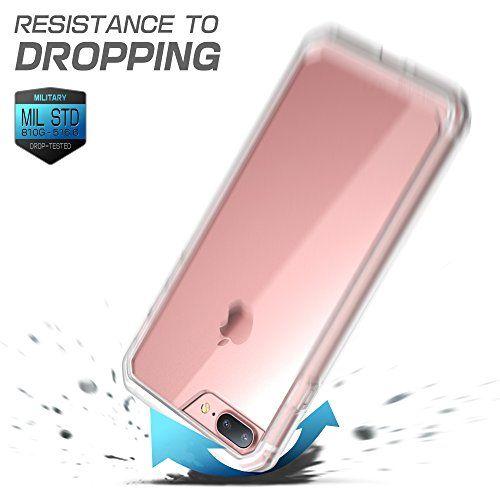 466c09a75 iPhone 8 Plus Case, SUPCASE Unicorn Beetle Series Premium Hybrid Protective  Clear Case for Apple iPhone 7 Plus 2016 / iPhone 8 Plus 2017 Release ...