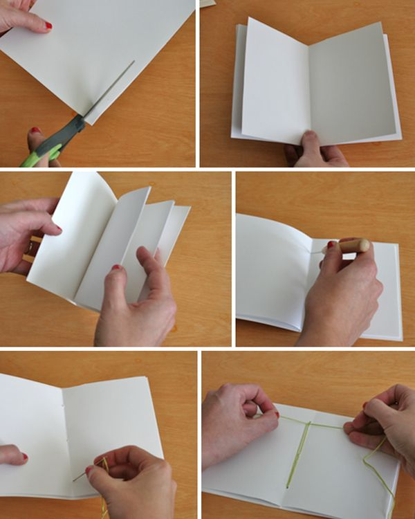 DIY sketchbooks. They're meant to be wedding favors, but I might just make some for myself, or as regular gifts! So cute.