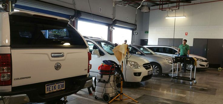 We offer a range of services, from a basic outside car wash or inside vacuum to a full detailed service.
