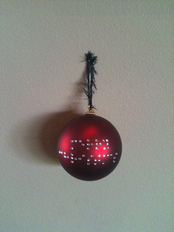 RESERVED/CUSTOM Handmade Christmas Ornaments 8 by SensorySunShop