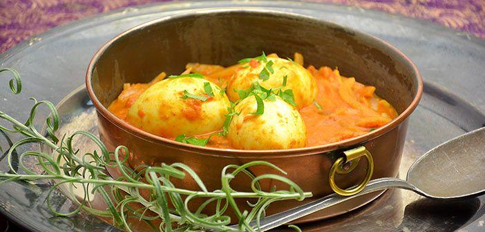 Kookos muna curry